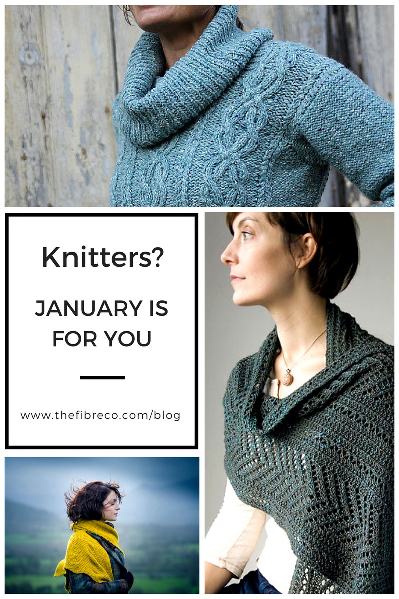 6-Inspirational-Knits-for-January Pintrest Graphic