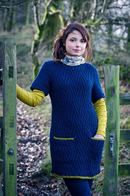 Helga by Emma Wright using The Fibre Co. Cumbria
