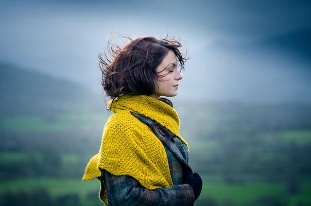 Ingwer by Melanie Berg using The Fibre Co. Cumbria Fingering