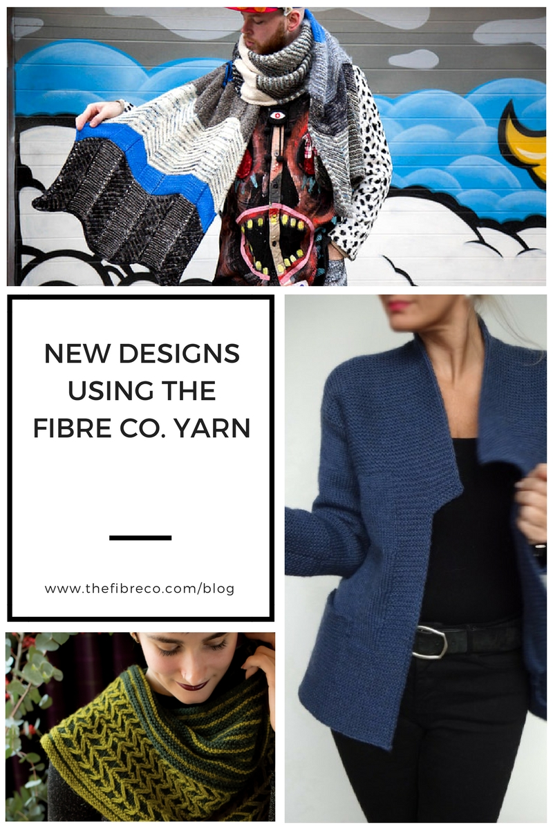 New Designs using The Fibre Co. Yarns