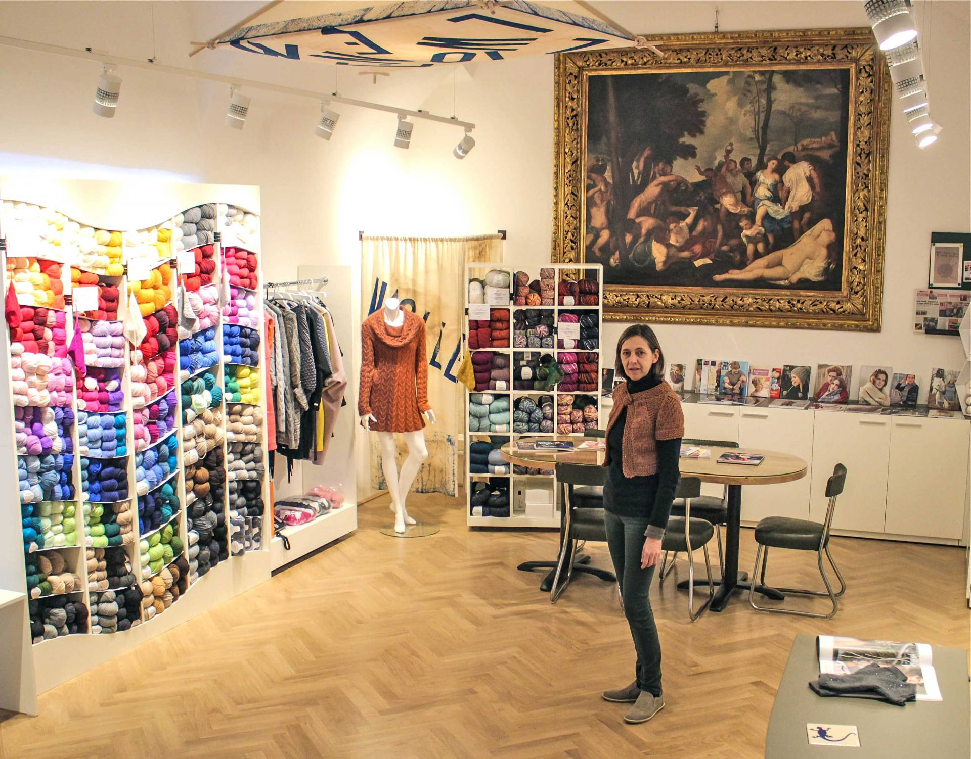 WolleWein Yarn Store Vienna