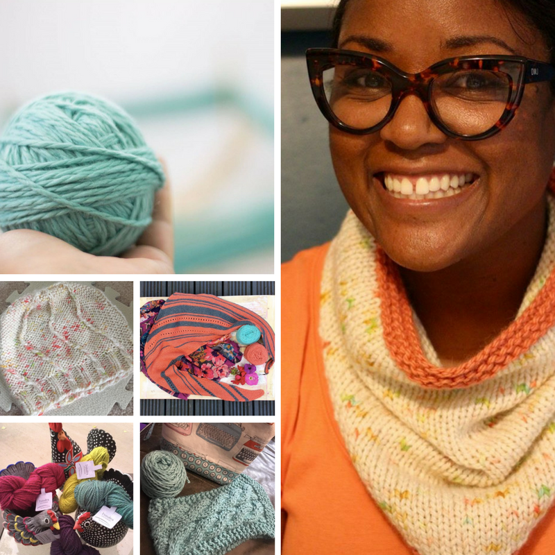 Knitting projects using The Fibre Co. Tundra yarn