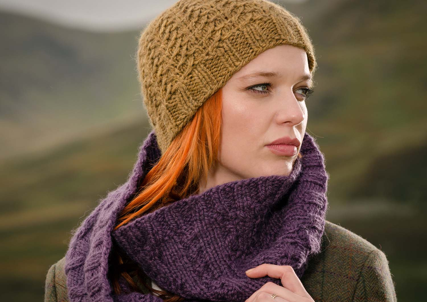 6 knitted hat patterns for the fibre co