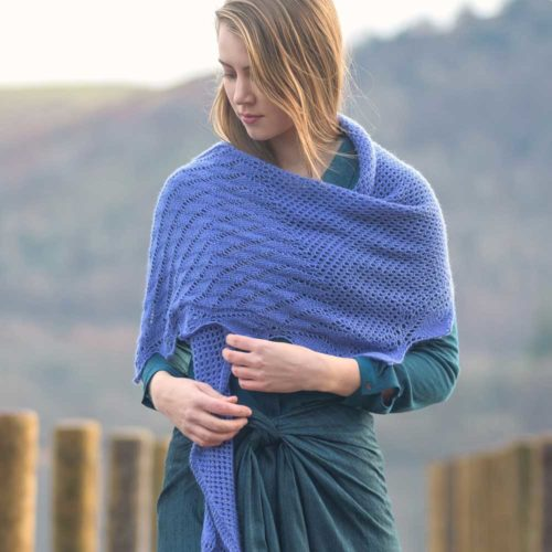Portinscale Shawl - Waves Collection