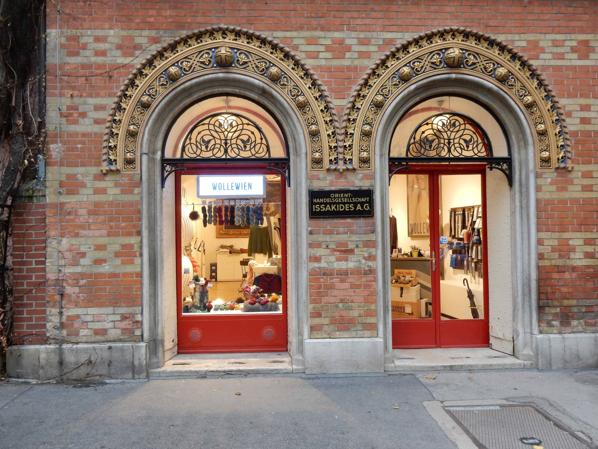 WolleWein Yarn Store, Vienna