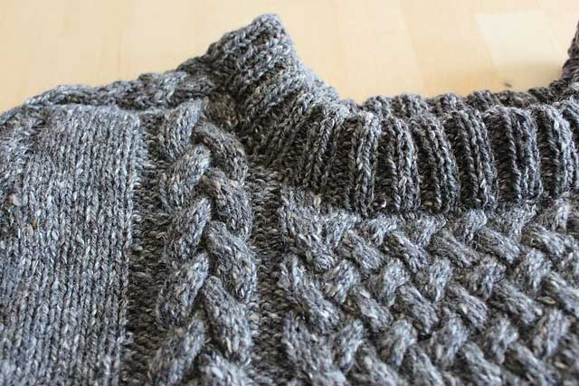 Fell Garth ll sample knit