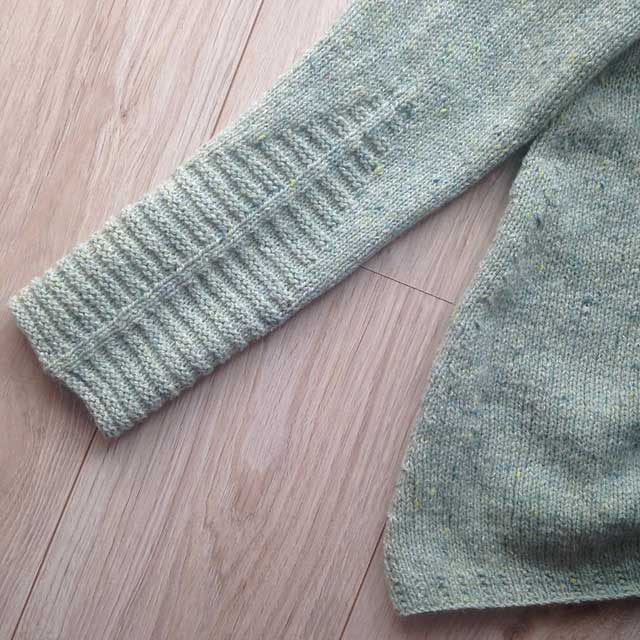 Sample knit Fell Garth ll
