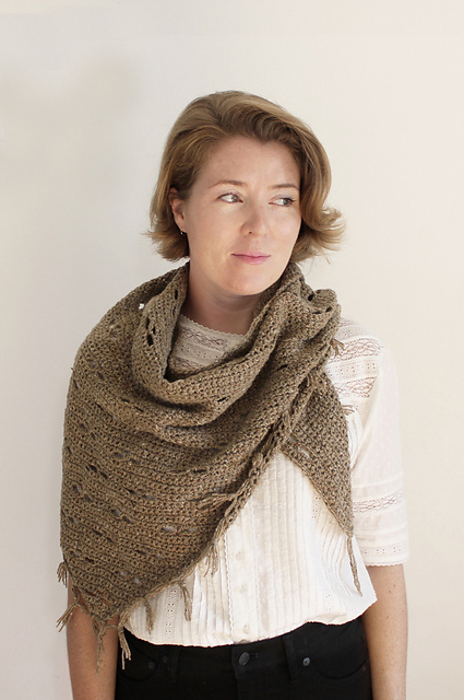 The Harvest Bloom Shawl