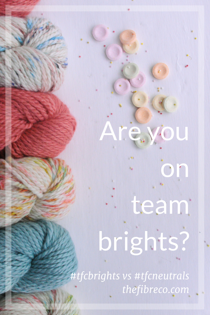 Team Brights The Fibre Co. Yarn