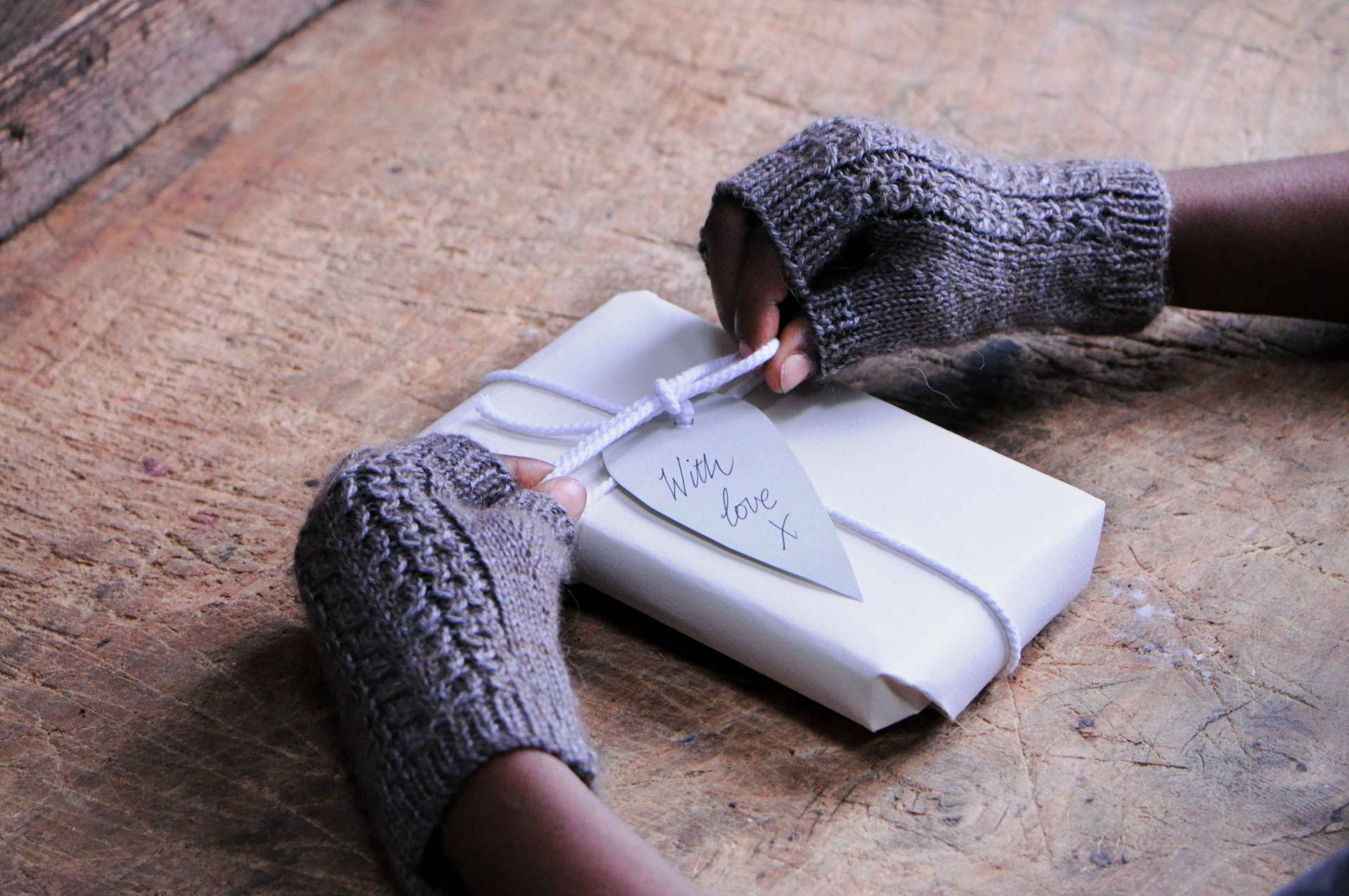 Cable and Rib Wristwarmers pattern for beginner knitters using The Fibre Co. Road to China Light