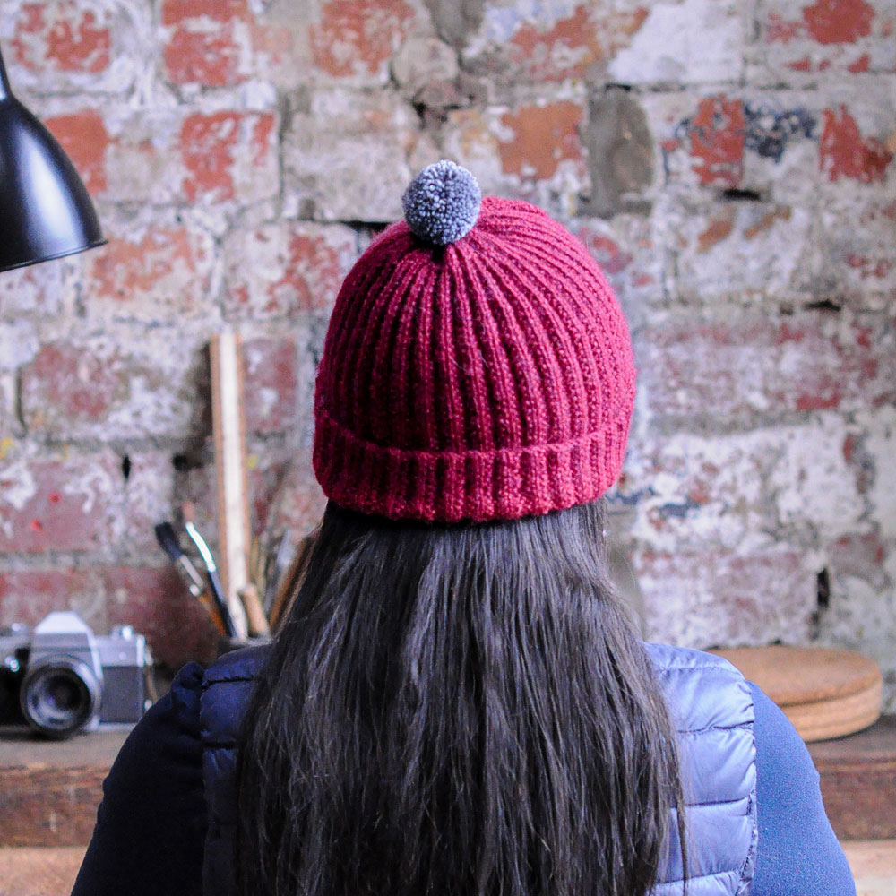 Mistake Stitch Rib Hat - The Fibre Co.
