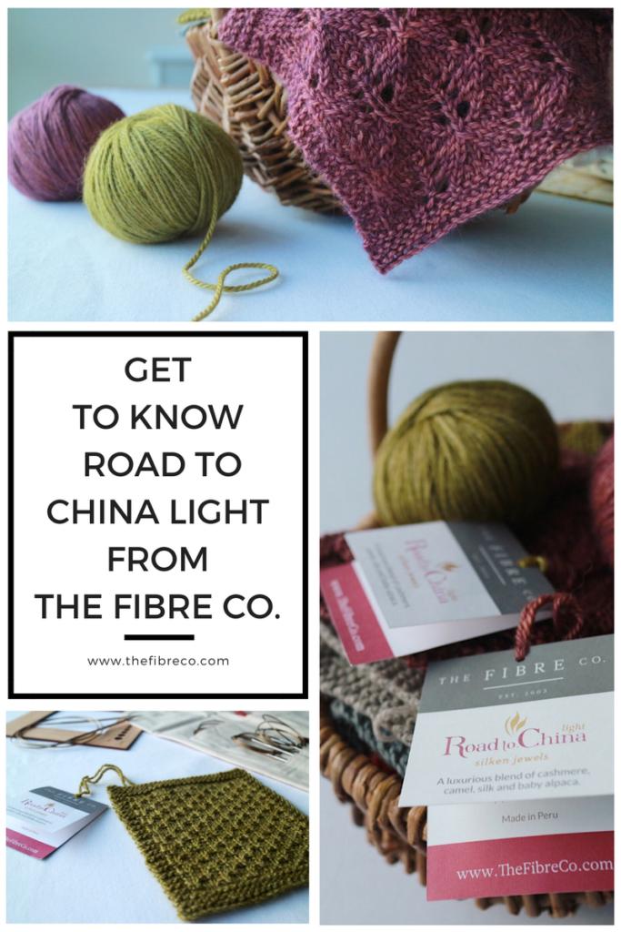 The Fibre Co. Road to China Light Alpaca Cashmere Silk Camel Blend