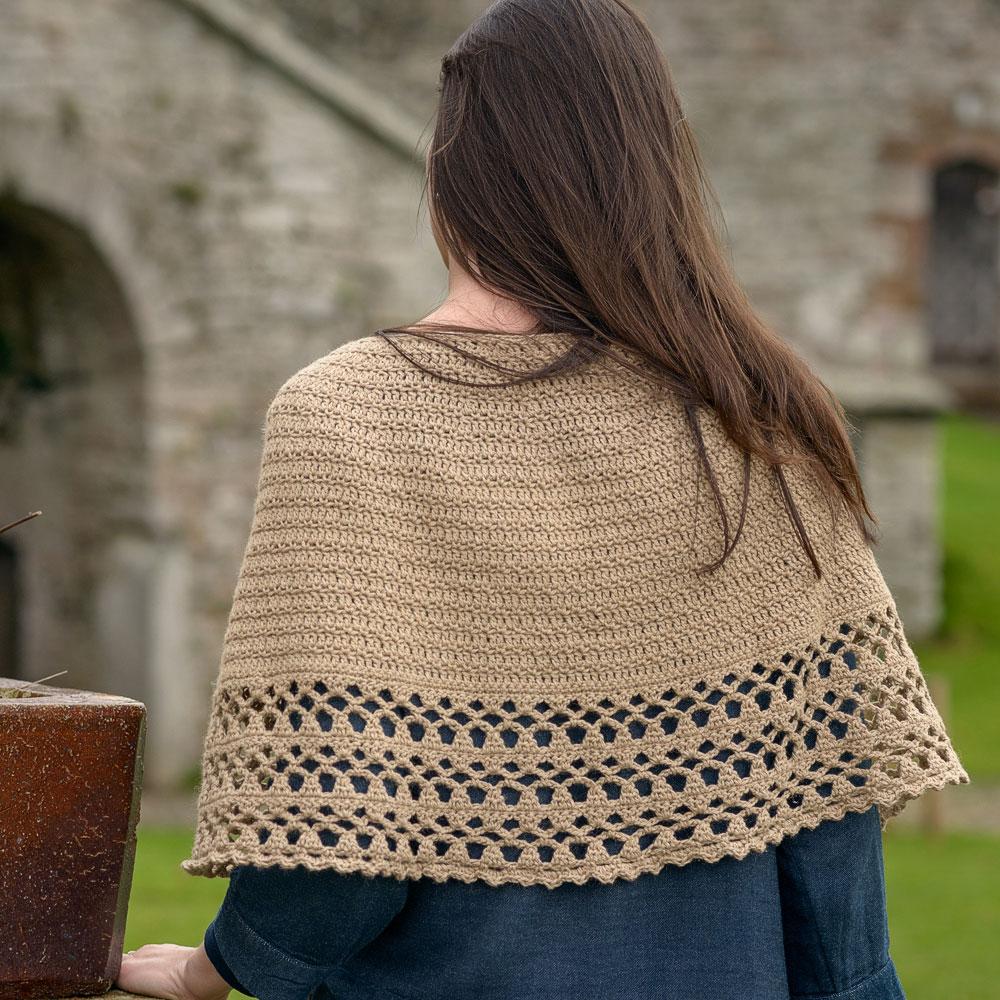 Crochet Poncho The Fibre Co
