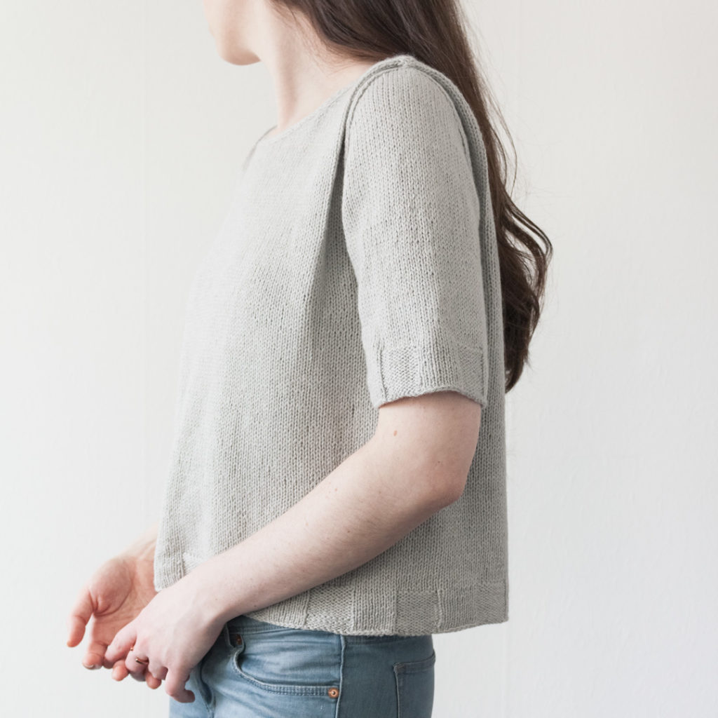 Alice Caetano - Verso T-Shirt - The Fibre Co Luma
