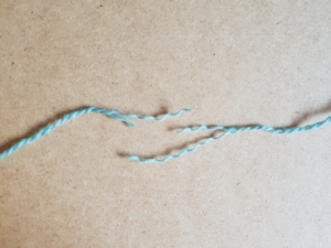How to join yarn with a spit splice