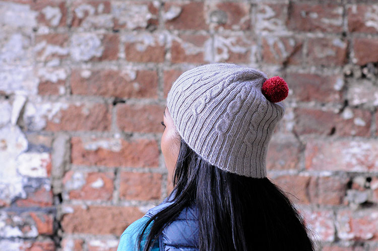 Cable and Rib Hat Kit