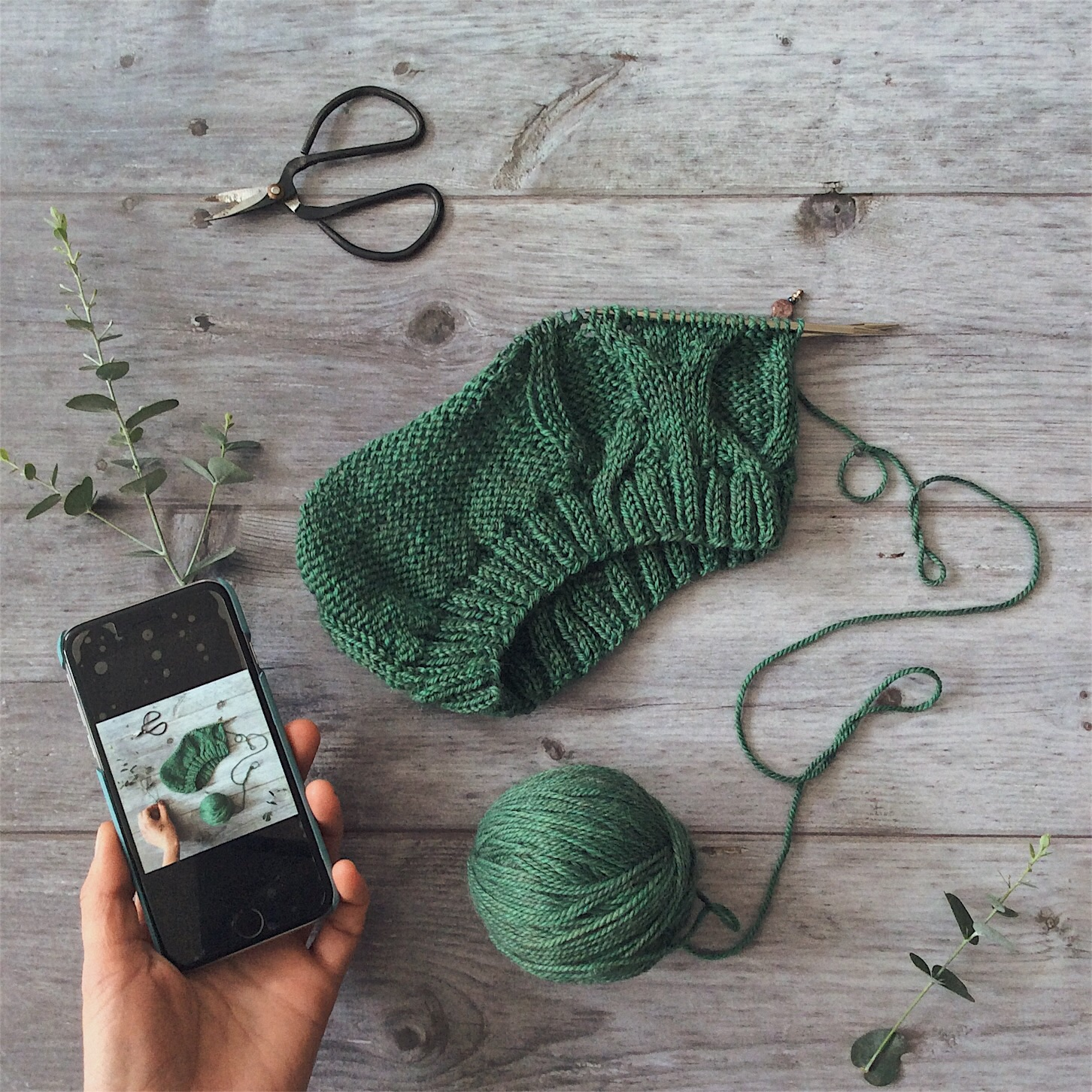Hat Knitting with The Fibre Co. Yarn