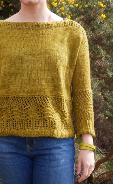 Pembroke Sweater by Marion Em Knits