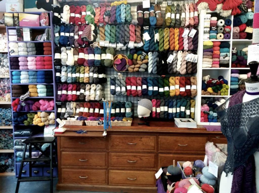 Paris yarn shop, Les Tricoteurs Volants