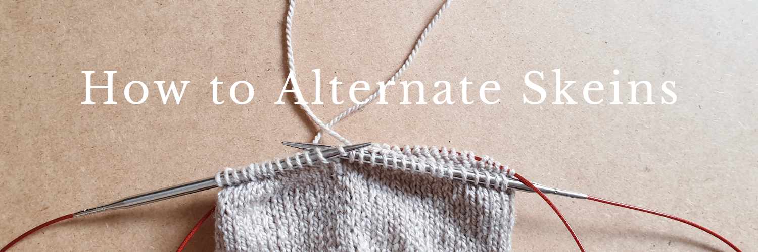 How to Alternate Skeins