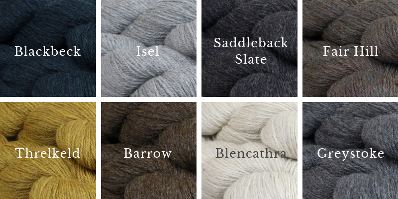 New Shades of Cumbria: Blackbreck Isel, Saddleback Slate, Fair Hill, Greystoke, Blencathra, Barrow, Threlkeld