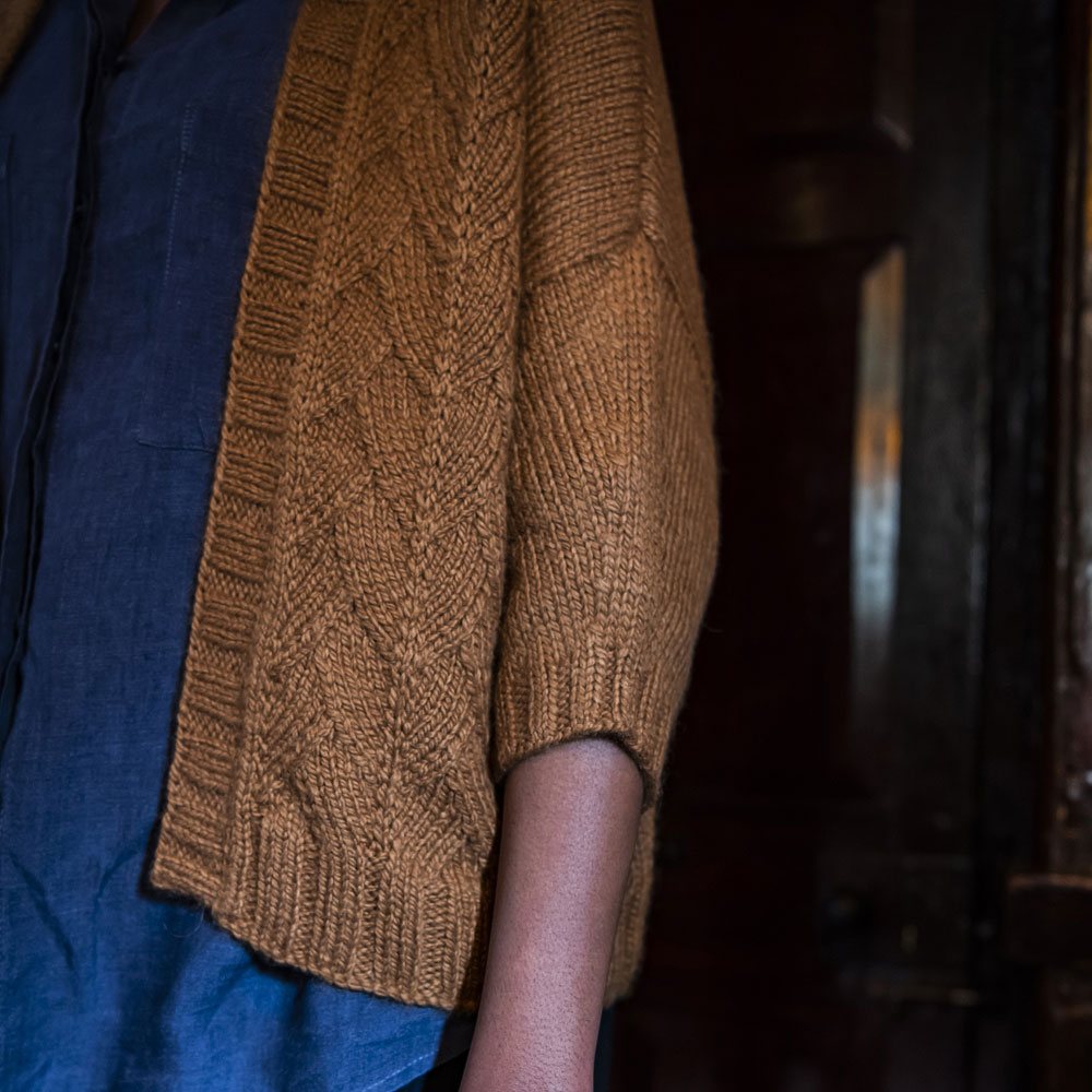 Ullock by Marie Greene in The Fibre Co. Tundra as part of Foundations AW19/20