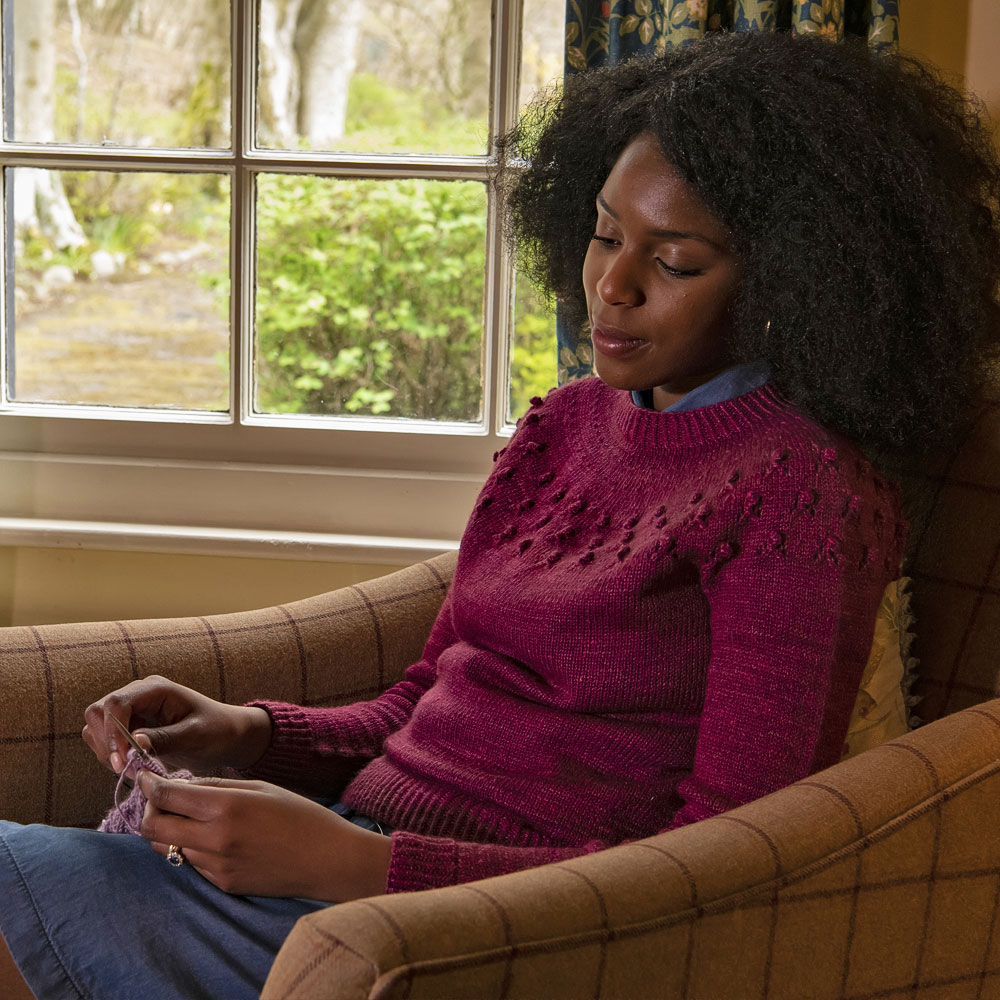 Wythop by Sari Nordlund in The Fibre Co. Acadia as part of Foundations AW19/20