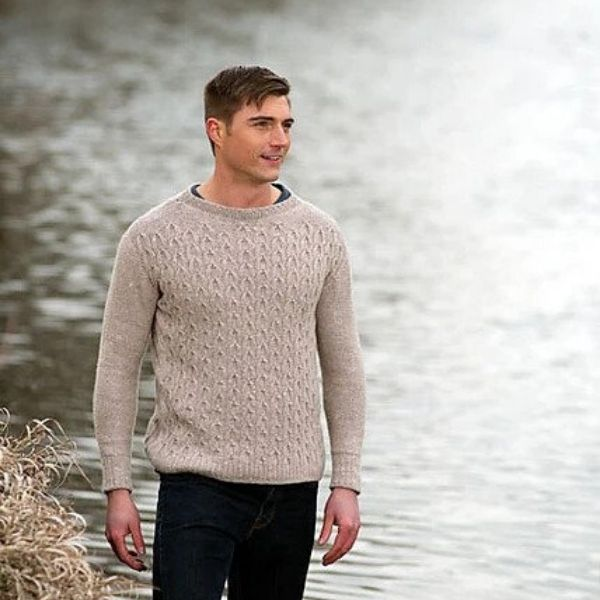 9 Men's Sweater Patterns We Want to Make The Fibre Co.