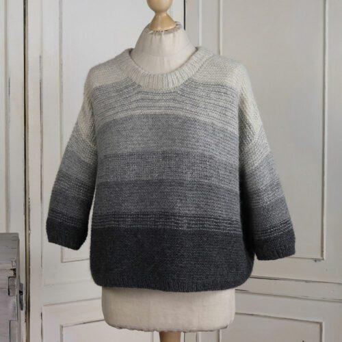 Mellbreak Gradient Knit Pullover