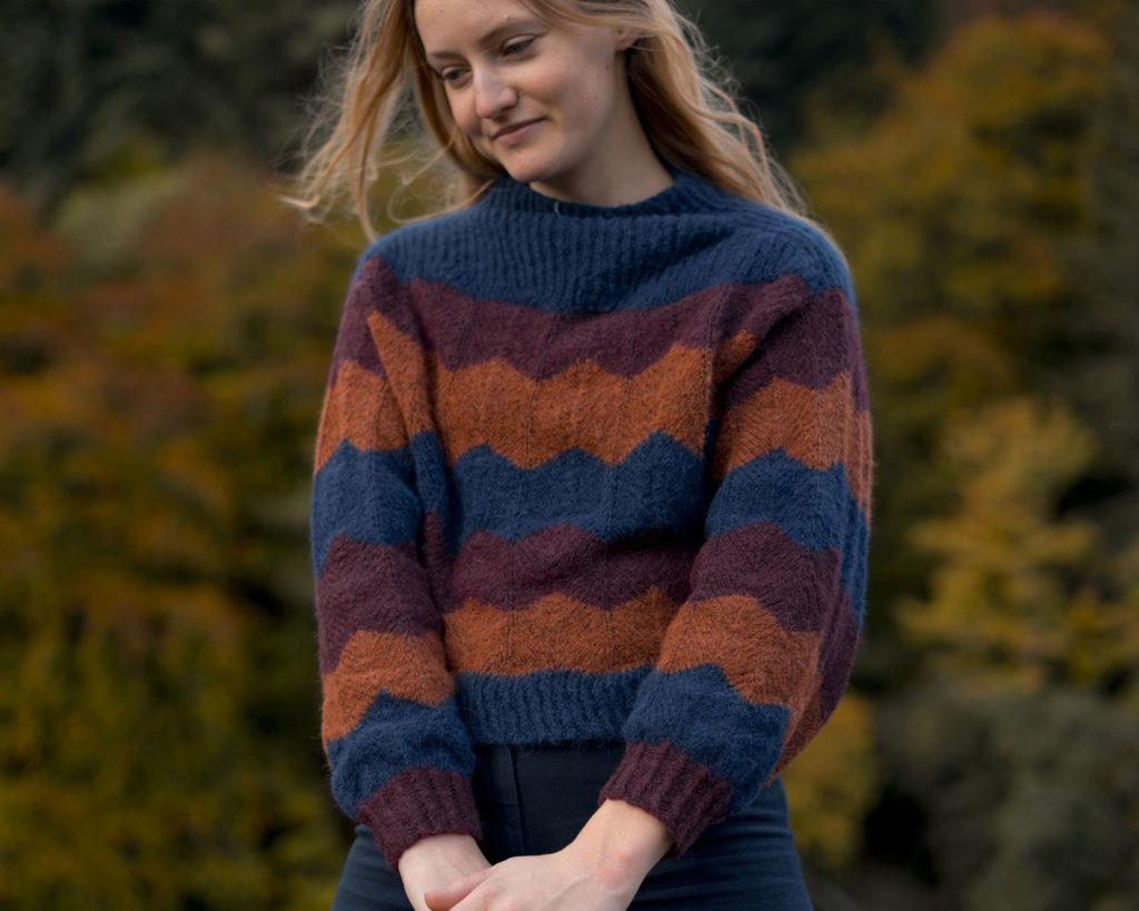 Cornaline sweater