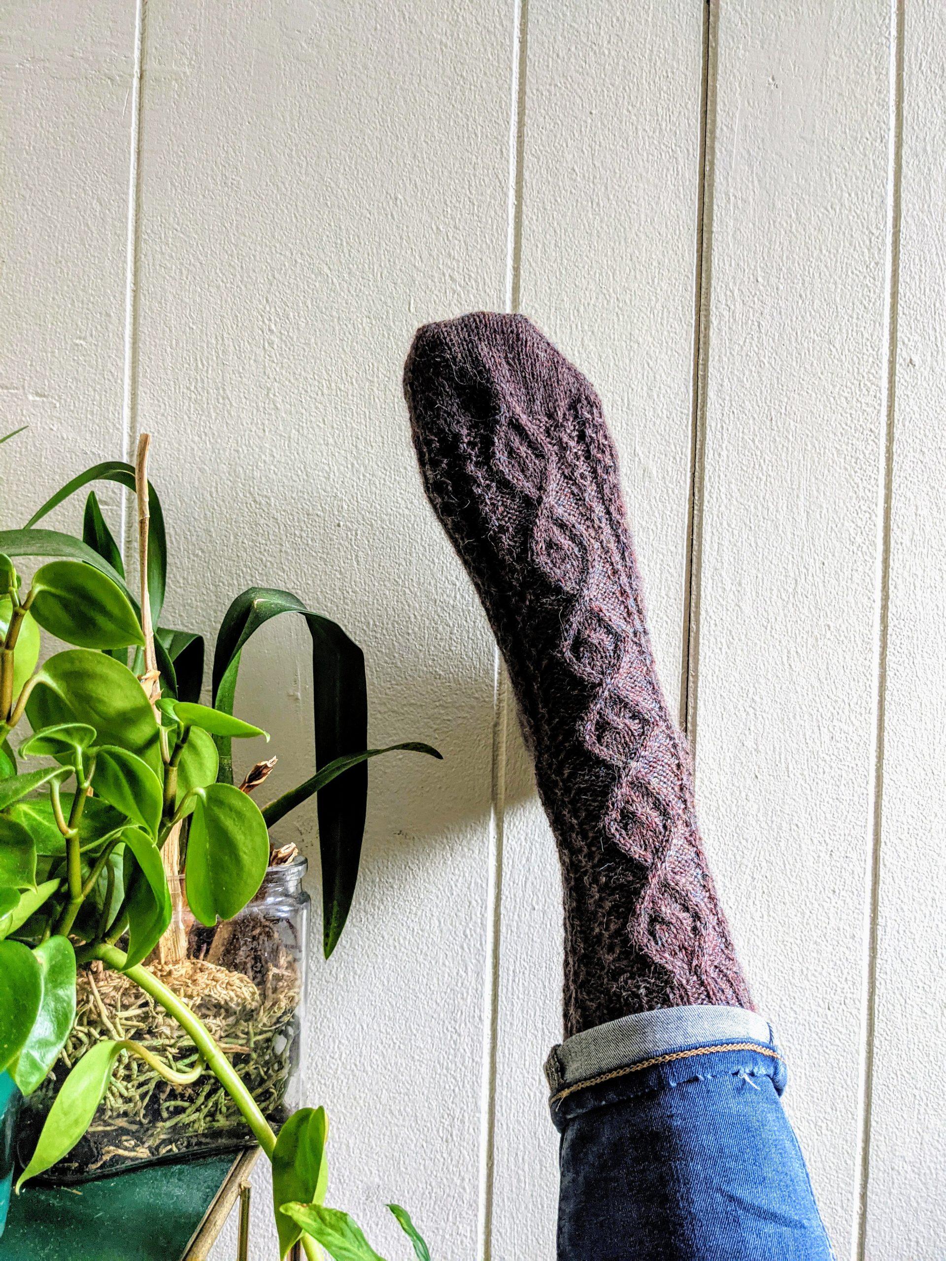 Soph Socks in The Fibre Co. Amble